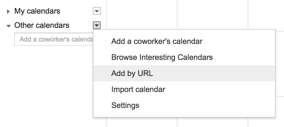 Other Calendars