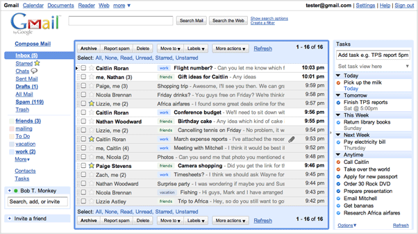Remember The Milk for Gmail